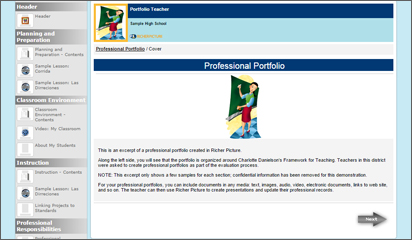 Teacher Portfolios Video Placeholder